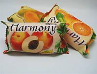 Фруктовое мыло Harmony для тела, персик, вес 150 г, в упаковке 48шт, гигиена, бытовая химия, туалетных, мыло для рук, твердое мыло, мыло для ног