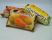 Фруктовое мыло Harmony для тела, манго, вес 150 г, в упаковке 48шт, гигиена, бытовая химия, туалетных, мыло для рук, твердое мыло, мыло для ног