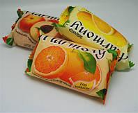 Фруктовое мыло Harmony для тела, апельсин, вес 75г, в упаковке 72 шт, гигиена, бытовая химия, туалетных, мыло для рук, твердое мыло, мыло для ног