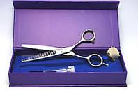 Ножницы для филирования волос YRE NJ-00, в коробке, из стали, серебристые, Парикмахерские ножницы