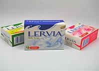Туалетное мыло для тела LERVIA Milk soap, молоко, вес 90г, в упаковке 72шт, мыло, гигиена, бытовая химия, туалетных, мыло для рук, твердое мыло, для