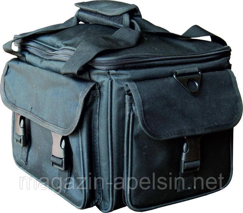 """Чемодан мастера СM-2700-60, чёрный, на змейке, из ткани. Внутри имеет ящики для инструментов., Чемодан для мастера  - интернет-магазин """"Апельсин"""" в Одессе"""