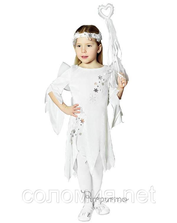 Детский костюм для девочки Эльф зима