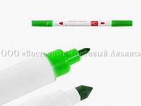 Фломастер двусторонний Modecor - Зелёный
