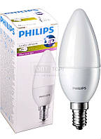 Philips Светодиодная лампа Philips LED CorePro candle (свеча) ND 6-40W E14 827 B39 FR