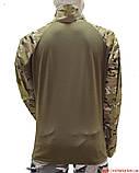 Тактическая рубашка убакс рип-стоп multicam, фото 4