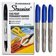 Маркер тонкий синий 95000 «Sharp»
