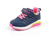 Детские  кроссовки для девочек Clibee, искусственная кожа, стелька кожа ортопед, размеры 26-31