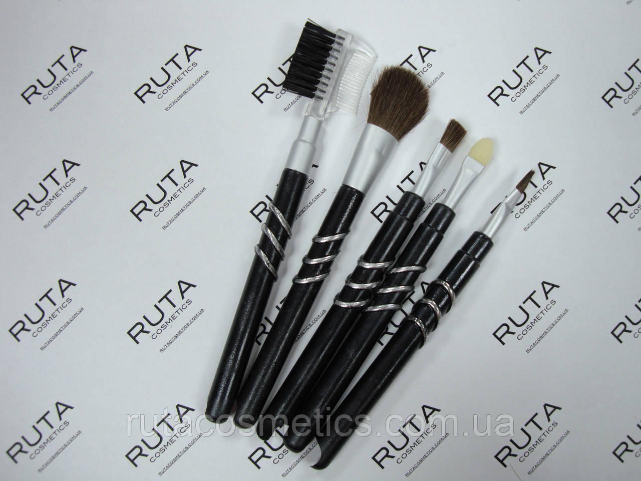 Набор кистей для макияжа (5 предметов)