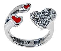 "Кольцо ""Цитра"" покрытое серебром (j53130e1)"