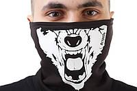 Бафф с принтом «Волк»