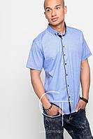 Рубашка -26065-11 (Голубой)