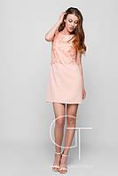 Платье -26104-10 (Персиковый)