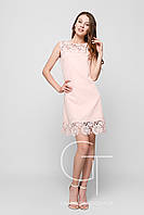 Платье -26105-10 (Персиковый)
