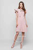 Платье -26114-10 (Пудровый)
