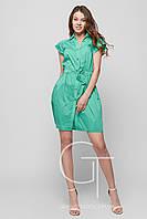 Платье -26115-12 (Зеленый)