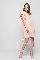 Платье -26112-10 (Персиковый)