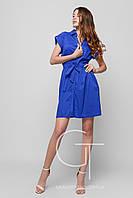 Платье -26116-2 (Электрик)