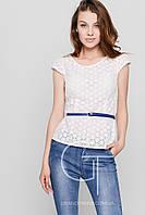 Блузка -26117-3 (Белый)