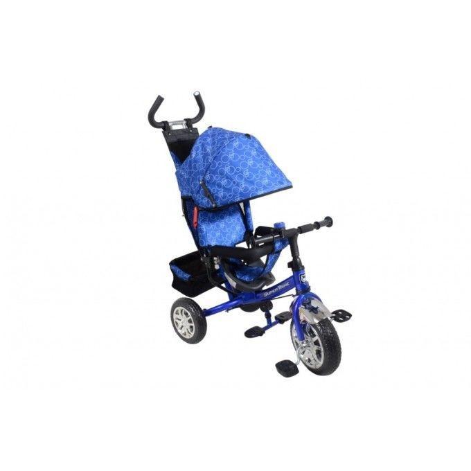 Велосипед Трёхколесный VT1421 Синий колеса с подшипниками