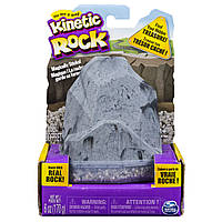 Кинетический гравий для детского творчества - KINETIC ROCK (серый, 170 г)