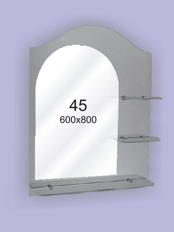 Зеркало для ванной комнаты 650х800 мм Ф47