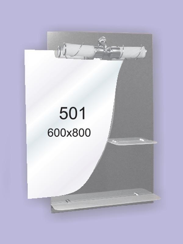 Зеркало для ванной комнаты 600х800 мм Ф501