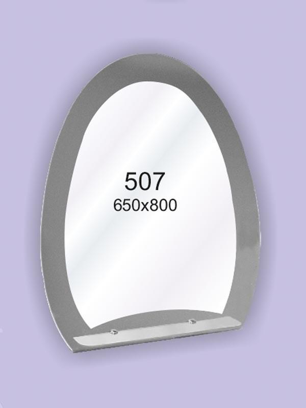 Зеркало для ванной комнаты 650х800 мм Ф507