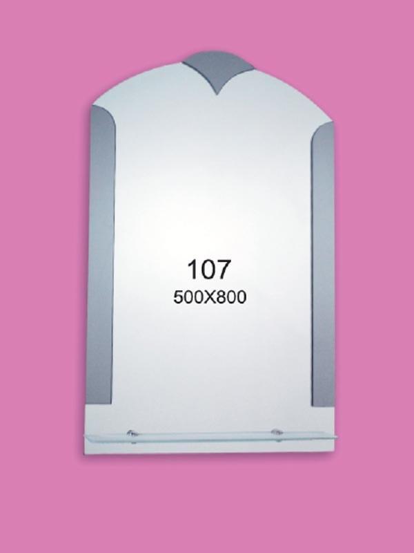Зеркало для ванной комнаты 500х800 мм Ф107