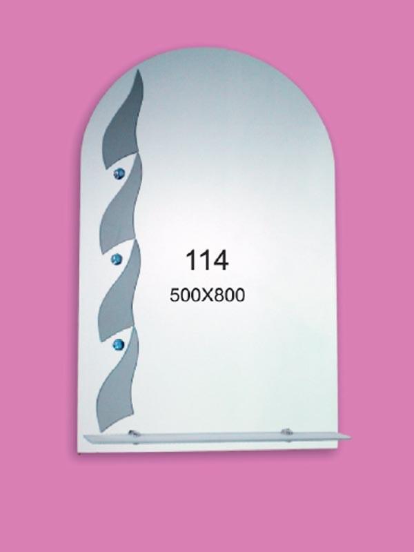 Зеркало для ванной комнаты 500х800 мм Ф114