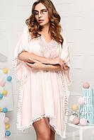 Платье KP-10020-10 (Персиковый)