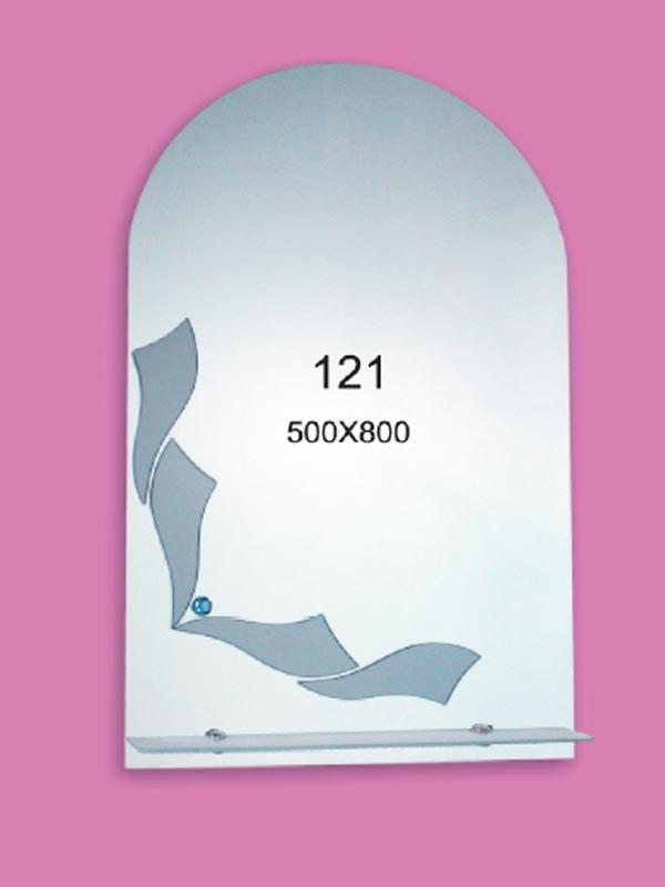 Зеркало для ванной комнаты 500х800 мм Ф121