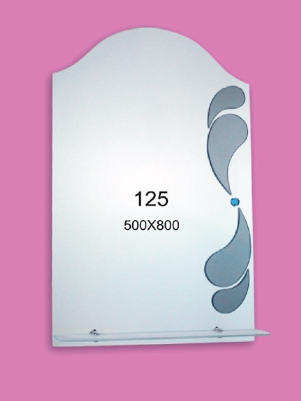 Зеркало для ванной комнаты 500х800 мм Ф125