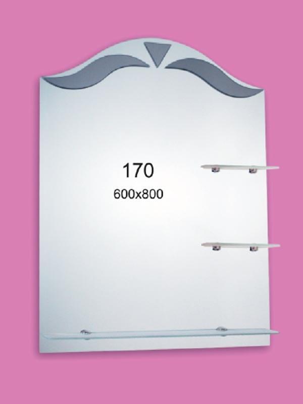 Зеркало для ванной комнаты 600х800 мм Ф170
