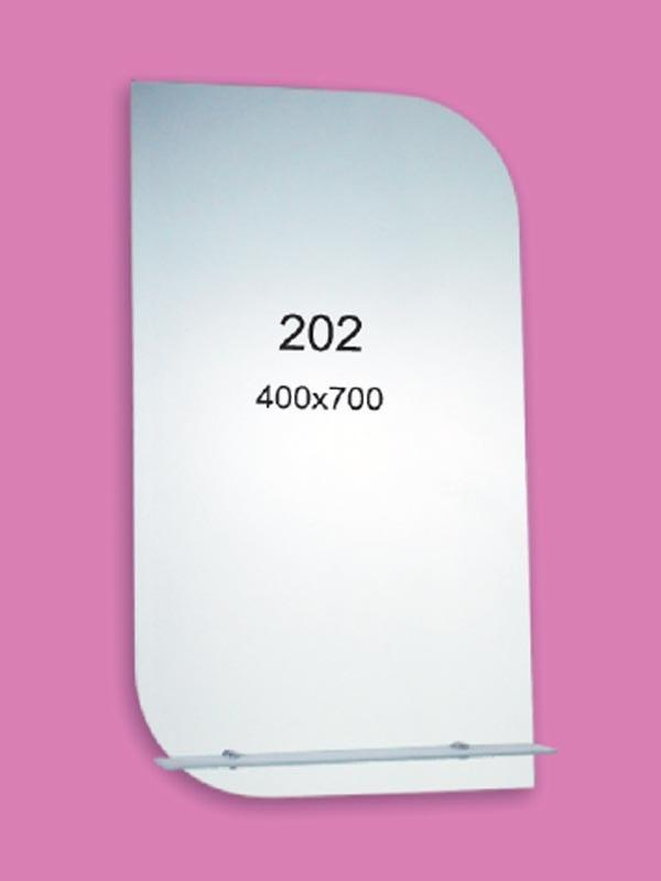 Зеркало для ванной комнаты 400х700 мм Ф202