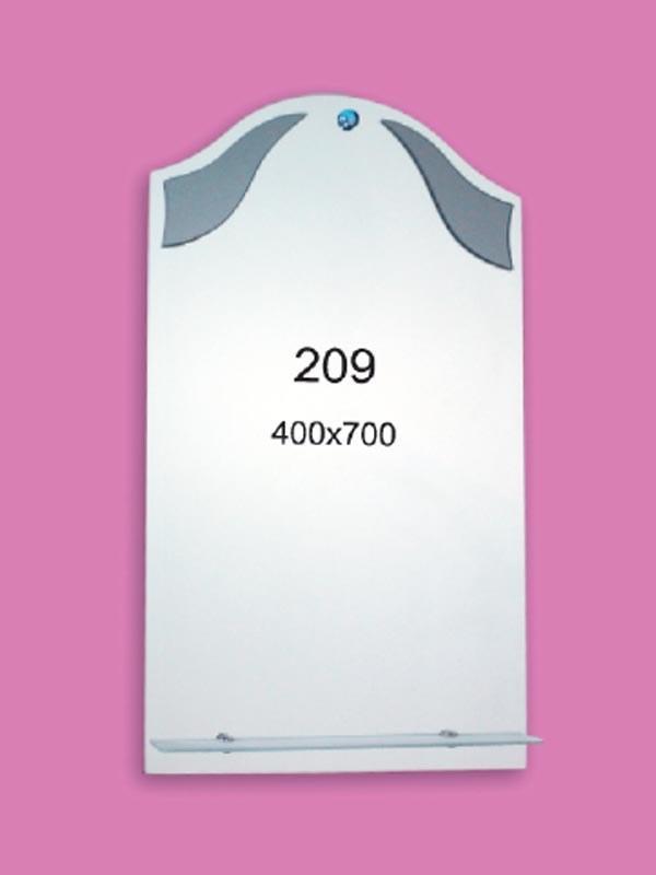 Зеркало для ванной комнаты 400х700 мм Ф209
