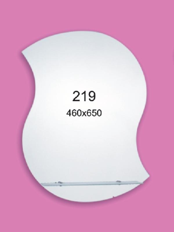 Зеркало для ванной комнаты 460х650 мм Ф219