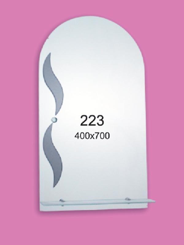 Зеркало для ванной комнаты 400х700 мм Ф223