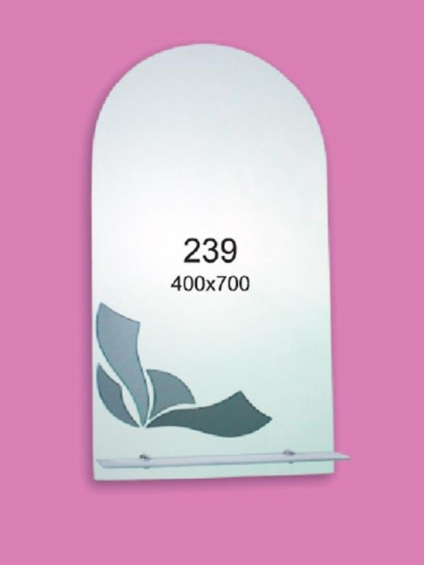 Зеркало для ванной комнаты 400х700 мм Ф239
