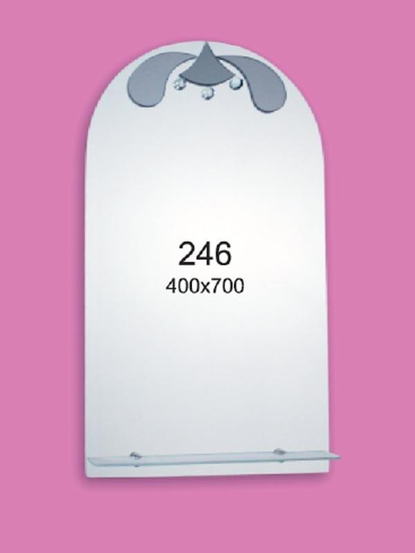 Зеркало для ванной комнаты 400х700 мм Ф246