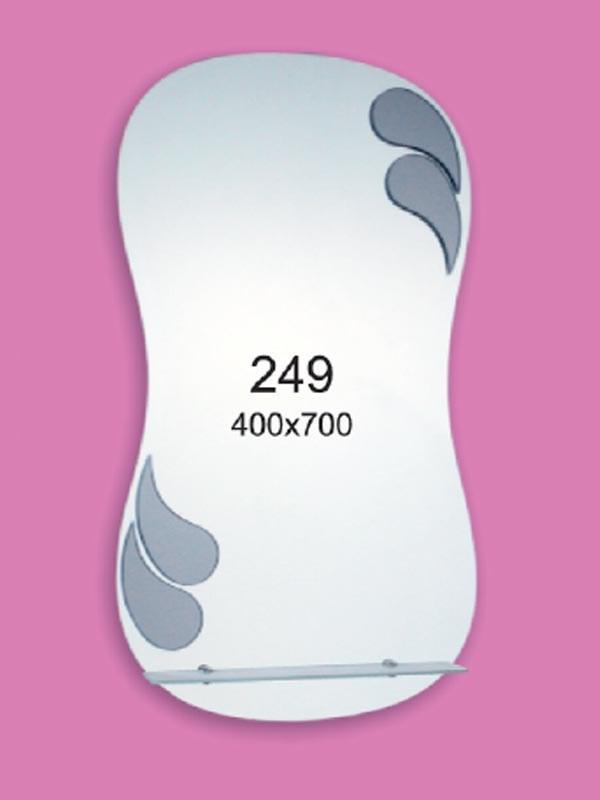 Зеркало для ванной комнаты 400х700 мм Ф249