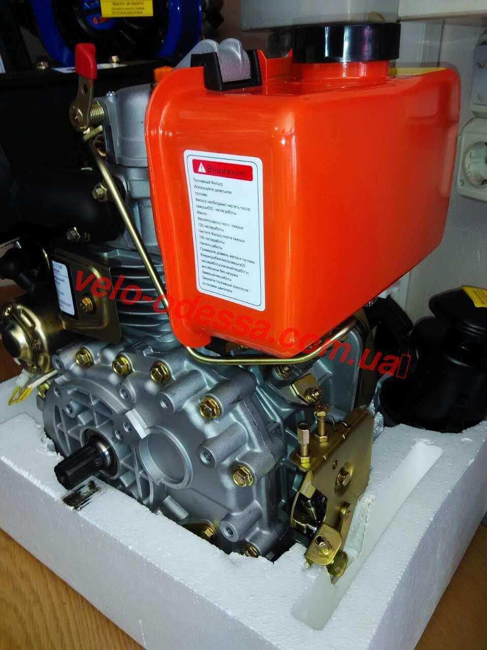 Двигатель 178F-E к мотоблоку зубр оригинал электростартер НТ-105/6НР