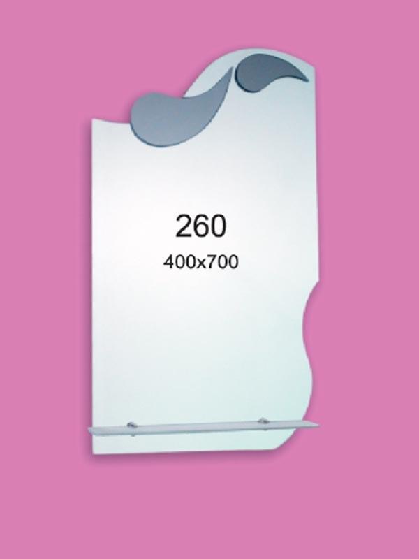 Зеркало для ванной комнаты 400х700 мм Ф260