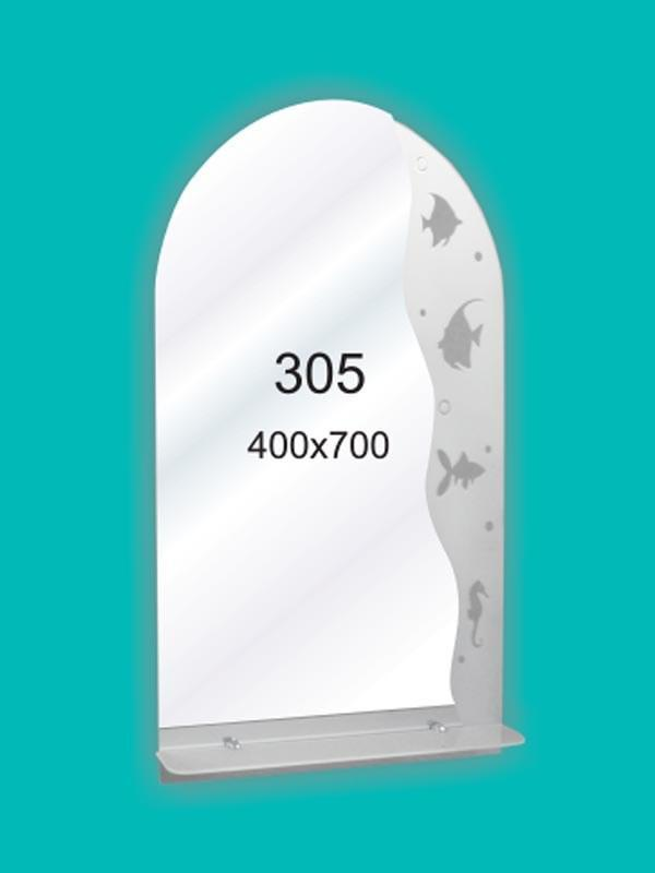 Зеркало для ванной комнаты 400х700 мм Ф305