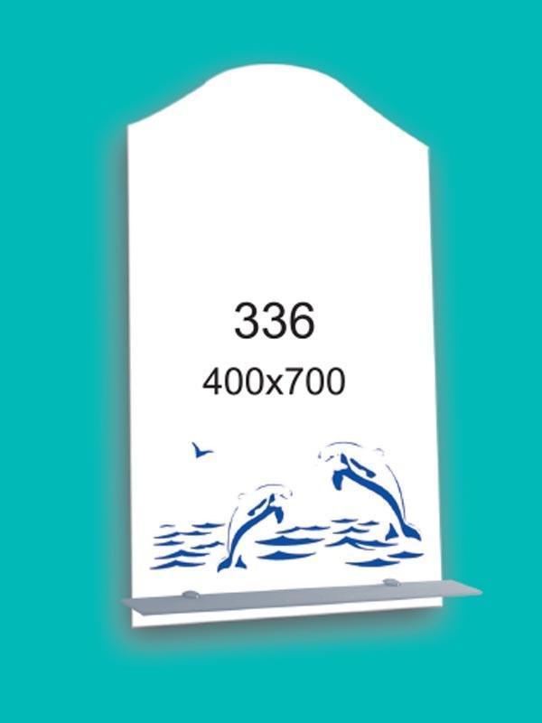 Зеркало для ванной комнаты 400х700 мм Ф336
