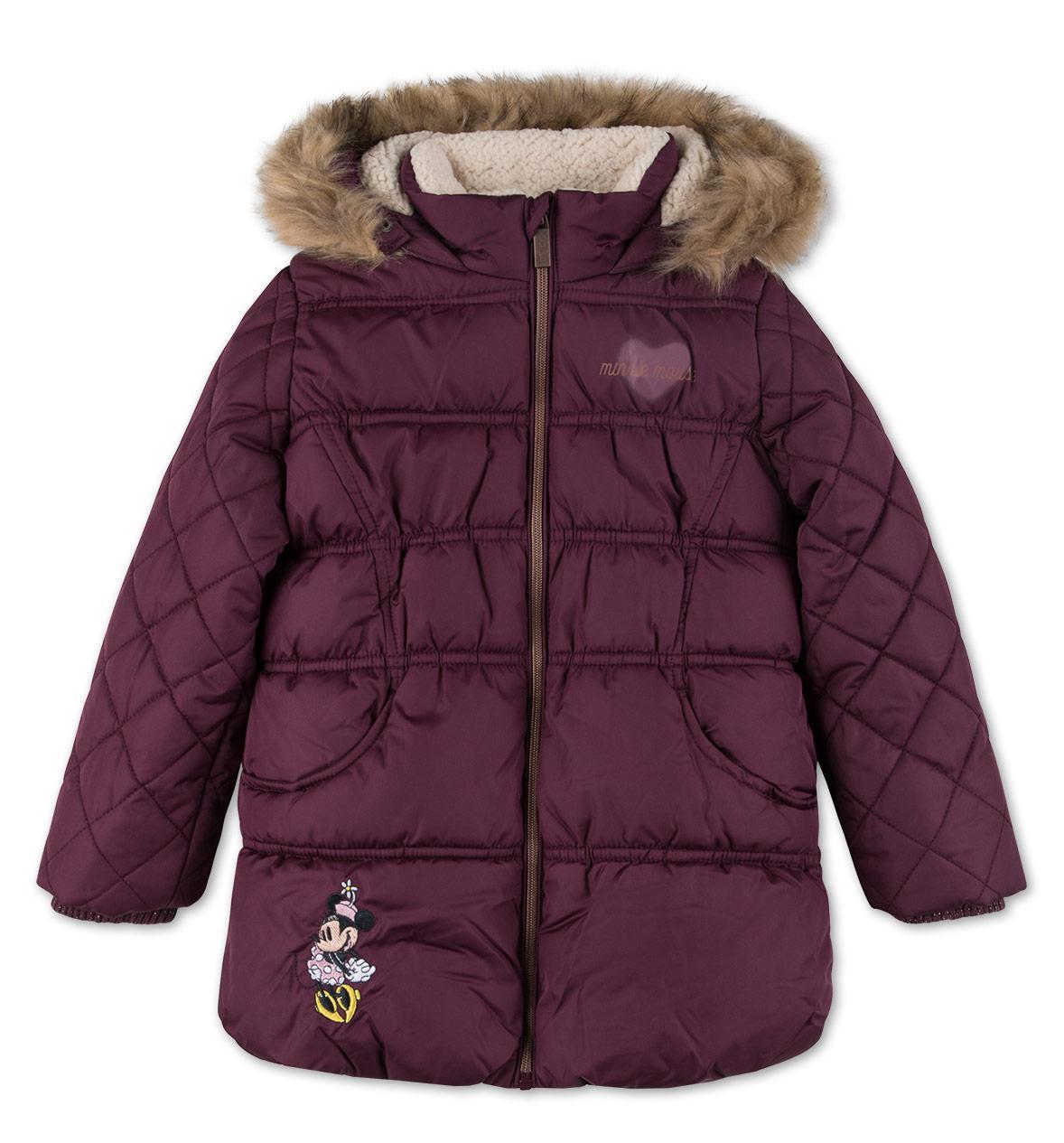 Детская зимняя куртка с Минни Маус на девочку от C&A Disney Размер 122