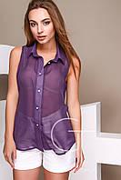 Блузка LB-0006-19 (Фиолетовый)