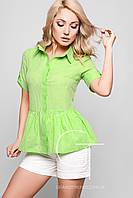 Рубашка -26173-12 (Зеленый)