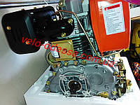 Двигатель в сборе 186F на мотоблок дизельный Зубр 9 лошадинных сил HT-135/9HP