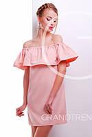 Платье -26191-10 (Персиковый)